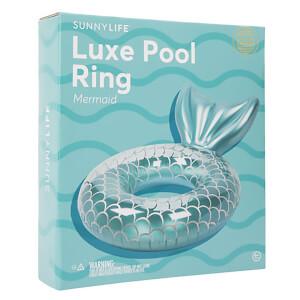 Sunnylife Luxe Mermaid Pool Ring - Teal