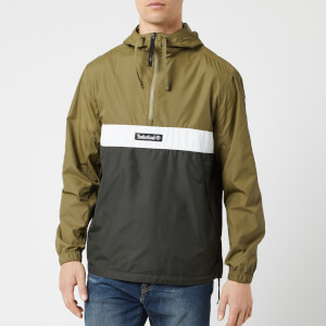 Timberland Men's Pull Over Hoodie - Martini Olive/Peat