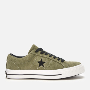 Converse Men's One Star Ox Trainers - Field Surplus/Black/White