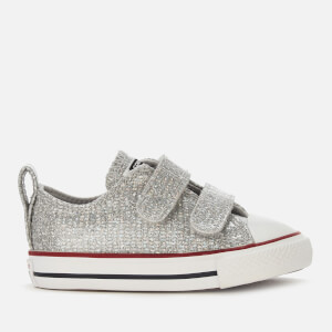 911d05f9f8a8e0 Converse Toddlers  Chuck Taylor All Star 2 Velcro Ox Trainers - Mouse Enamel  Red