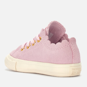 Converse Toddlers' Chuck Taylor All Star Ox Trainers - Pink Foam/Brass: Image 2