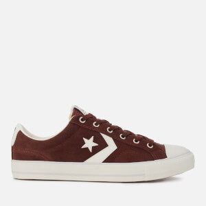 Converse Men's Star Player Ox Trainers - Beetroot Brown/Egret/Mouse