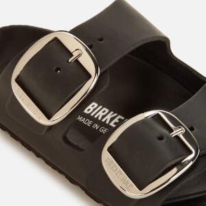 Birkenstock Women's Arizona Big Buckle Leather Slim Fit Double Strap Sandals - Black: Image 4