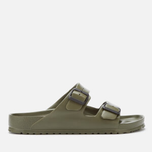 Birkenstock Men's Arizona EVA Double Strap Sandals - Khaki