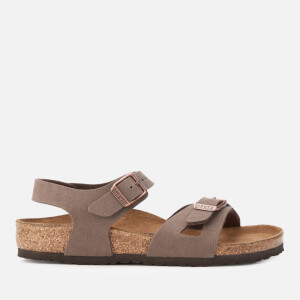 Birkenstock Kids' Rio Slim Fit Double Strap Sandals - Mocha