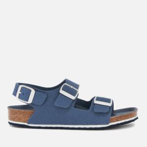 Birkenstock Kids' Milano Double Strap Sandals - Hexagon Tech Blue