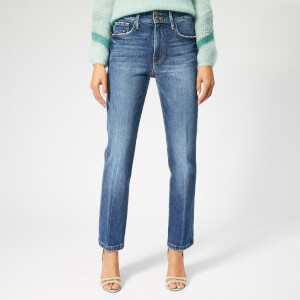 Frame Women's Le Sylvie Slender Straight Heritage Jeans - Halston
