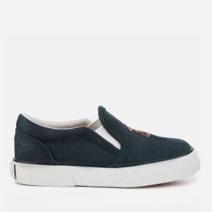 Polo Ralph Lauren Toddlers' Bal Harbour Ii Slip-On Trainers - Navy/Multi PP