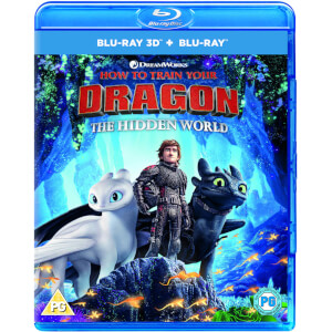 How to Train Your Dragon - The Hidden World (Includes 3D Blu-ray)