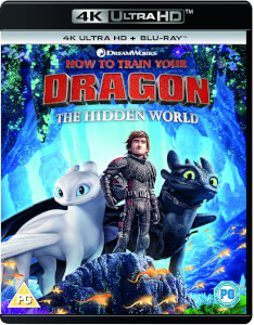 Dragons 3 : Le monde caché 4K UHD (+ Blu-ray et version digitale)