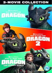 Cómo entrenar a tu dragón 1,2 y 3 - Colección Completa