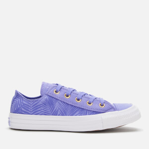 Converse Women's Chuck Taylor All Star Ox Trainers - Wild Lilac/Antique Brass/White