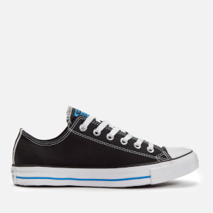 Converse Men's Chuck Taylor All Star Ox Trainers - Black/Totally Blue/White