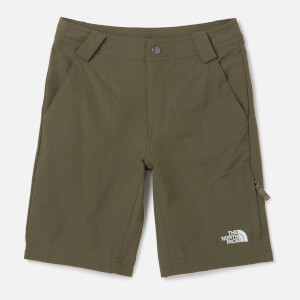 The North Face Kids' Exploration Shorts - New Taupe Green