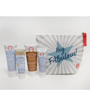 First Aid Beauty Cleanse, Tan and Hydrate 4 Piece Gift Bag (Free Gift)