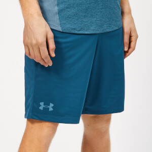 Under Armour Men's Mk1 Shorts - Petrol Blue/Thunder