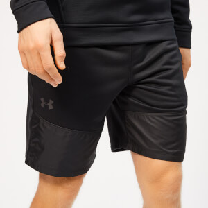 Under Armour Men's Terry Shorts - Black