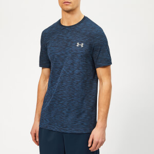 Under Armour Men's Vanish Seamless T-Shirt - Academy/Graphite
