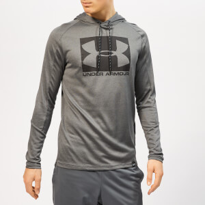 Under Armour Men's Lighter Longer Po Hoodie - Pitch Grey