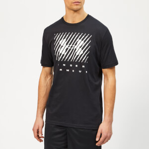 Under Armour Men's Branded Big Logo T-shirt - Black