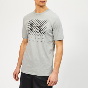 Under Armour Men's Branded Big Logo T-Shirt - Steel Light Heather