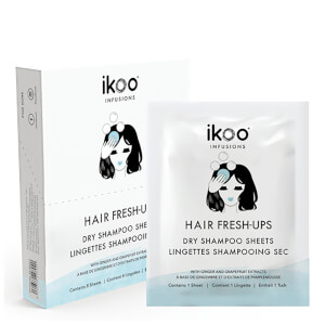 ikoo Dry Shampoo Sheets Fresh Hair Ups (Box of 8 Sachets)
