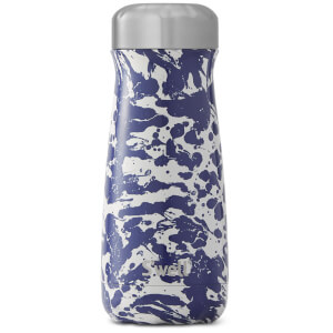 S'well Enamel Blue Traveller Water Bottle 470ml