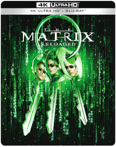 Matrix Reloaded - 4K Ultra HD Zavvi Exclusive Steelbook (Includes Blu-ray)