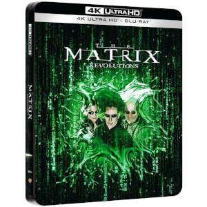 Matrix Revolutions - 4K Ultra HD Zavvi Exclusive Steelbook (Includes Blu-ray)