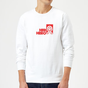 Super Mario Her Hero Sweatshirt - White