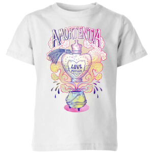 Harry Potter Amorentia Love Potion Kids' T-Shirt - White