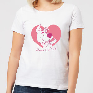 Scooby Doo Puppy Love Women's T-Shirt - White