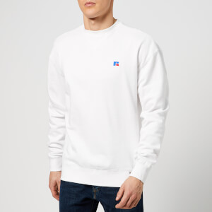 Russell Athletic Men's Frank Embroidered Sweatshirt - White