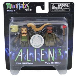 Alien Minimates Fury 161 Ripley & Dillon