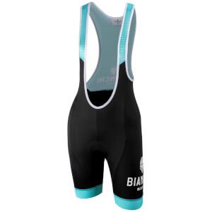 Bianchi Nocito Women's Bib Shorts - Black/Celeste