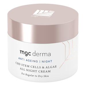 MGC Derma CBD Stem Cells and Algae All Night Cream 50ml