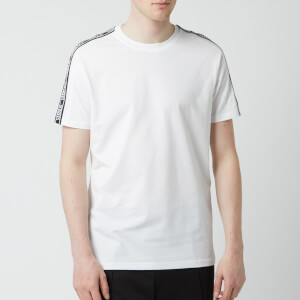 Versus Versace Men's Tape Detail T-Shirt - White