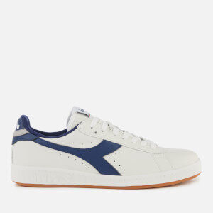 Diadora Men's Game Low Trainers - White/Twilight Blue/Ash