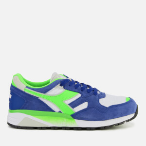 Diadora Men's N9002 Trainers - Imperial Blue/White