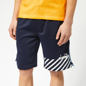 Diadora Men's Barra Bermuda Shorts - Blue Plum
