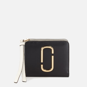 Marc Jacobs Women's Mini Compact Wallet - Black Multi