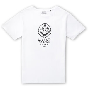 Nintendo Original Hero Mario T-Shirt - White