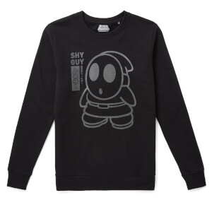 Nintendo Original Hero Shy Guy Sweatshirt - Black