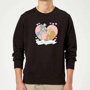 Felpa Disney Lilli e il Vagabondo Love - Nero