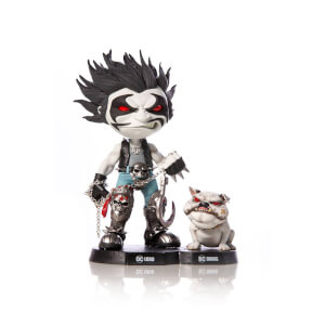 Iron Studios DC Comics Mini Co. PVC Figure Lobo & Dawg 16 cm