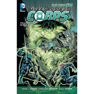 DC Comics - Green Lantern Corps Hard Cover Vol 02 Alpha War