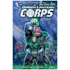 DC Comics - Green Lantern Corps Hard Cover Vol 03 Willpower