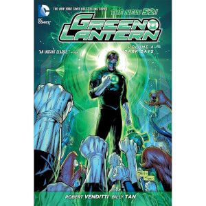 DC Comics - Green Lantern Hard Cover Vol 04 Dark Days (N52)
