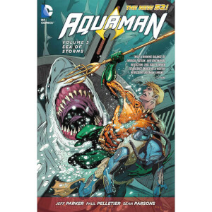 DC Comics - Aquaman Hard Cover Vol 05 Sea Of Storms (N52)