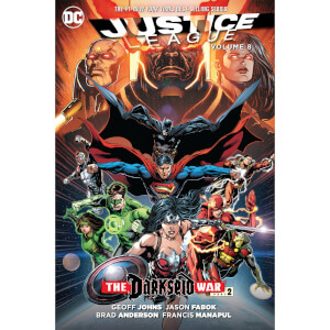 DC Comics - Justice League Hard Cover Vol 08 Darkseid War Part 2